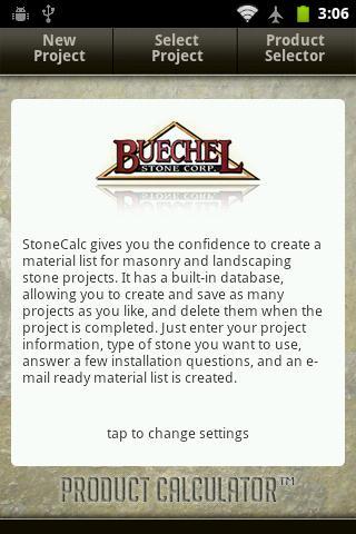 Buechel Stone StoneCalc