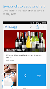 Bespoke Offers - screenshot thumbnail