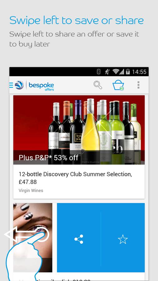 Bespoke Offers - screenshot