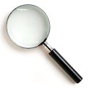 smart magnifier - zoom in icon