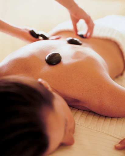 Spa-Fitness-Crystal-Spa-Stone-Massage - Try a stone massage in the spa on the Crystal Serenity to unwind at sea.