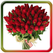 Beautiful Flowers Bouquet Glit