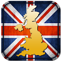 Map of UK icon