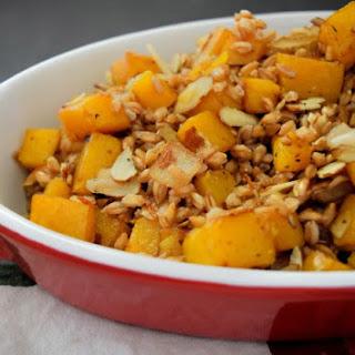Roasted Butternut Squash and Farro Salad Recipe