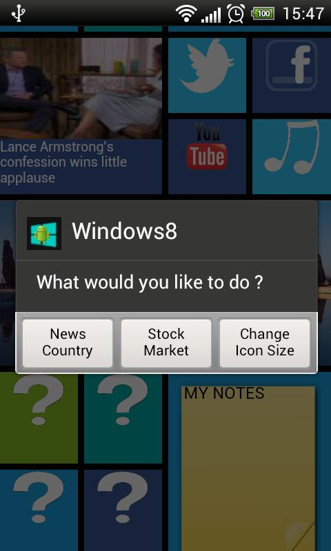 Home8 like Windows8 launcher - Android Apps on Google Play