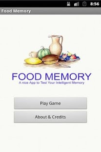 Food Memory Game - screenshot thumbnail