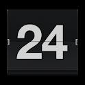 Retro Flip Clock logo