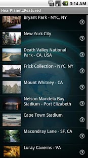 HearPlanet: World Audio Guide - screenshot thumbnail