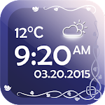 Digital Clock With Weather 2.0 Apk