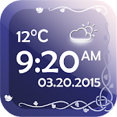 Digital Clock With Weather