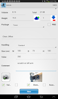 Screenshot of Voxme Estimator for Tablet