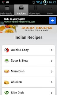 Indian Recipes! - screenshot thumbnail