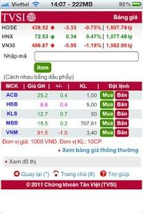 Chung khoan Tan Viet (TVSI) - screenshot thumbnail
