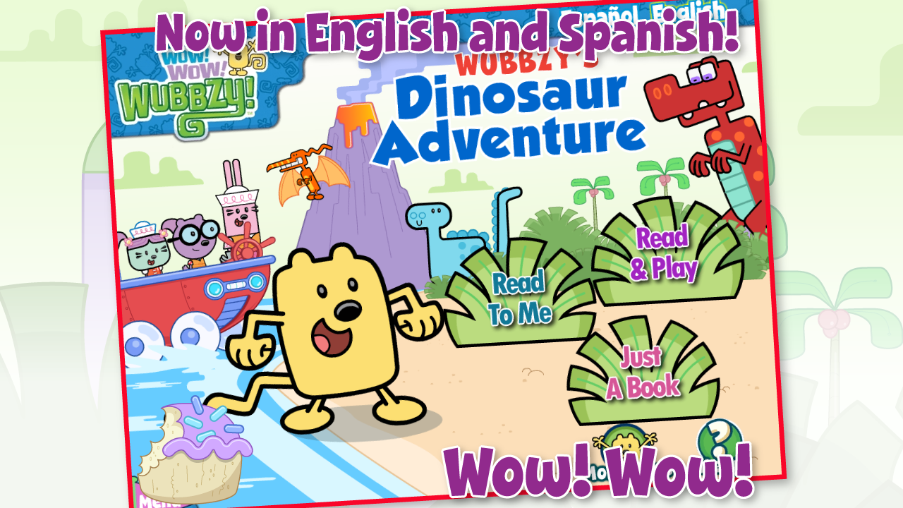 Wubbzy's Dinosaur Adventure- screenshot