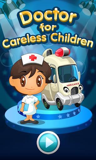 粗心的孩子的醫生遊戲