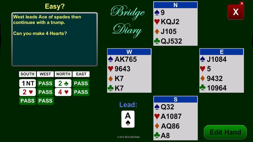 Bridge Diary- screenshot