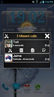 Screenshot of + Super Missed Call