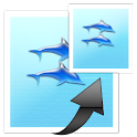 images easy resizer&JPG ⇔ PNG icon