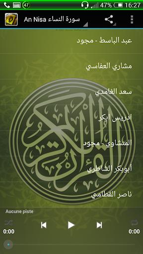 An Nisa Mp3 Quran