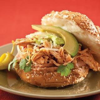 Chicken Tingas Sandwich