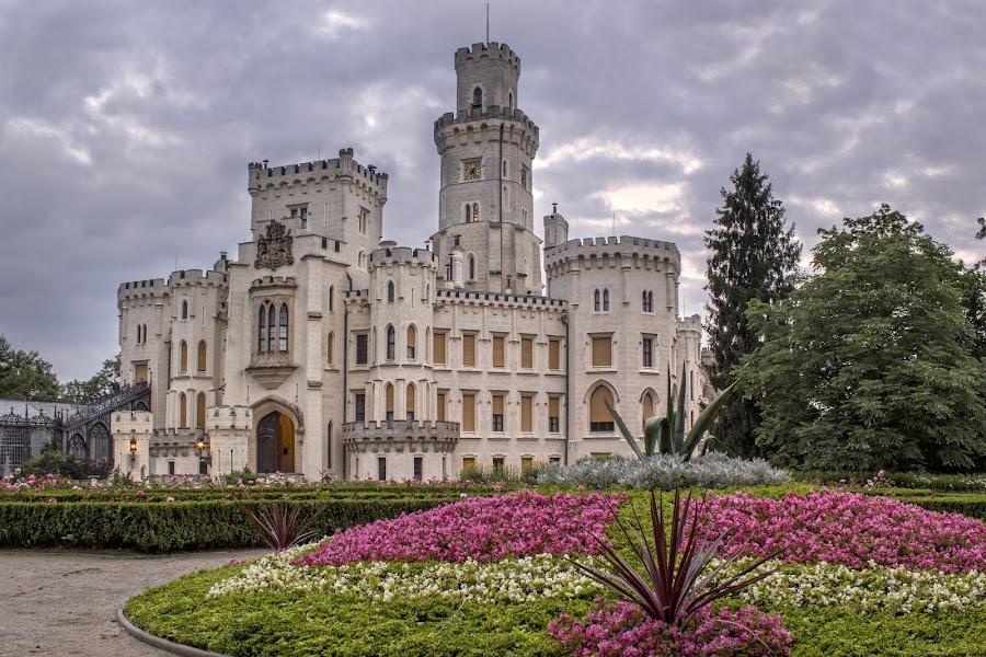 Chateau Hluboka by Petr Kubat - City,  Street & Park  Historic Districts ( gothic, park, hluboka, kubát, south, castle, chateau, bohemia )