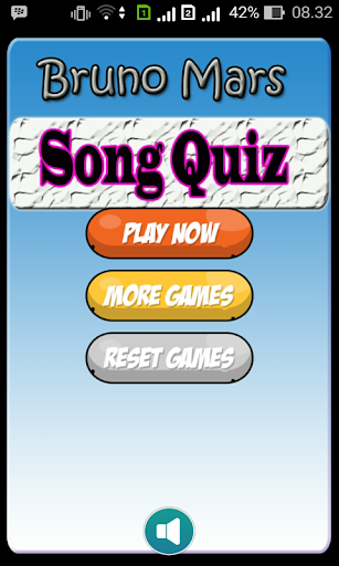 Bruno Mars Song Quiz