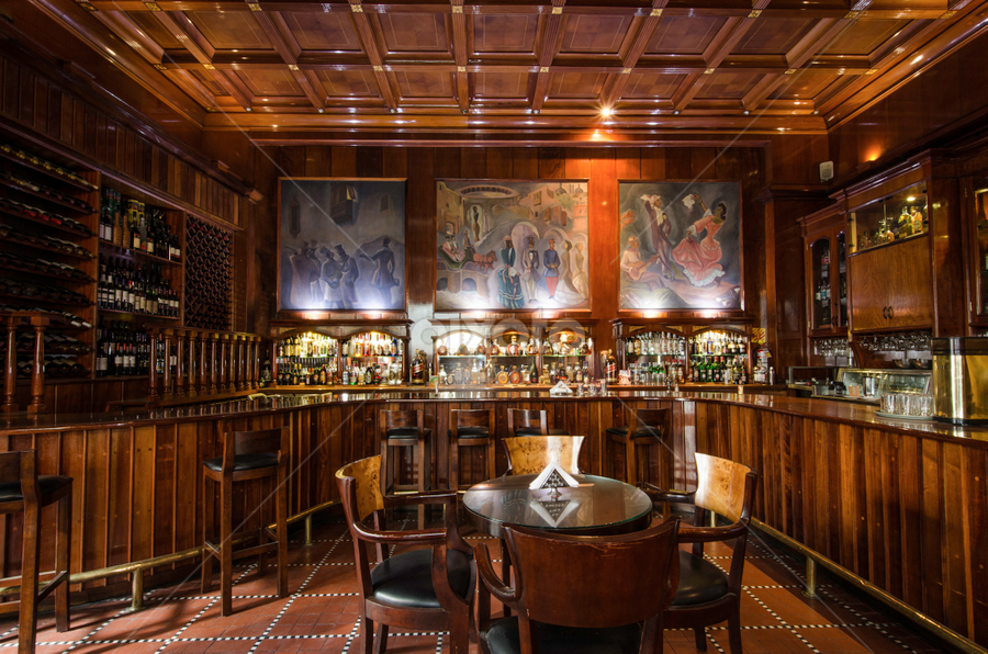 Maury's Bar by Fico Stein Montagne - Buildings & Architecture Office Buildings & Hotels ( pisco sour, hotel, bar, nikon d7000, lima, hotel maury,  )