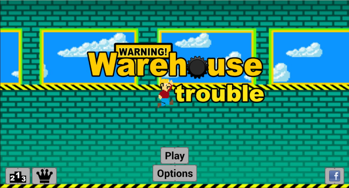 Warehouse Trouble- screenshot