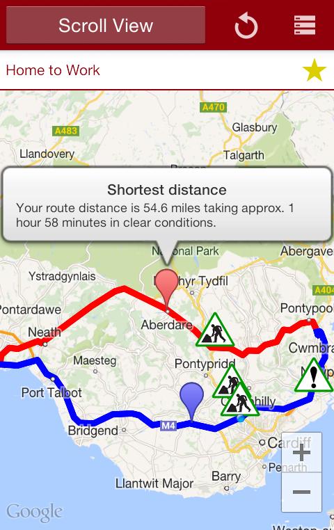 Traffic Wales Traffig Cymru- screenshot
