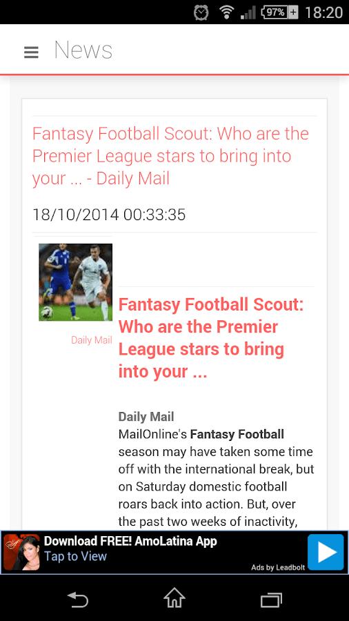 Fantasy Premier League EPL- screenshot