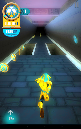 Egyxos - Labyrinth Run - screenshot