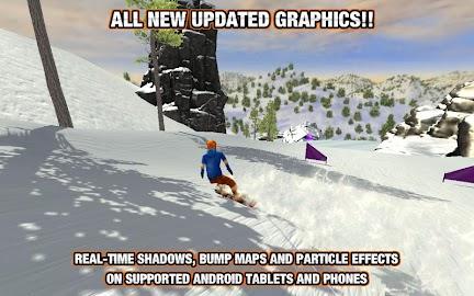 Crazy Snowboard Screenshot 1