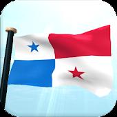 Panama Flag 3D Live Wallpaper