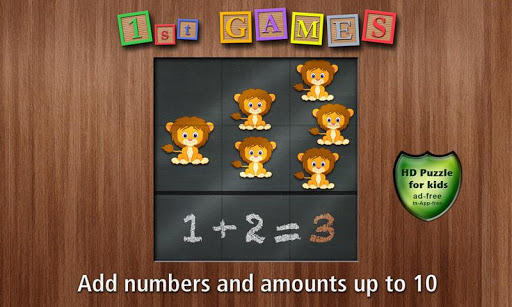 1st Games Kids Counting Game