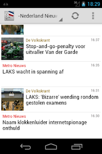 Nederland Nieuws - screenshot thumbnail