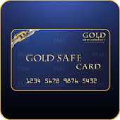 Gold Safe Card