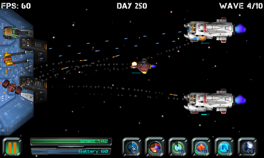 Space Station Defender- screenshot thumbnail