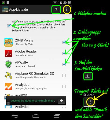 【免費生產應用App】App Liste de-APP點子