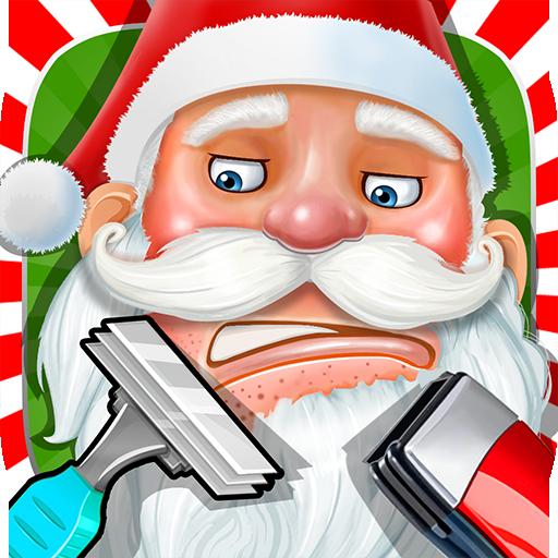 Beard Salon for Santa Claus LOGO-APP點子