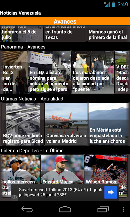 Venezuelan News- screenshot
