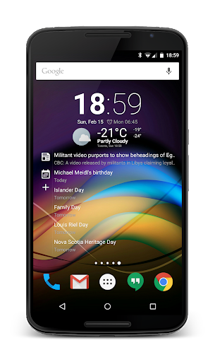Chronus Home & Lock Widget v7.0 Final [Mod Lite]