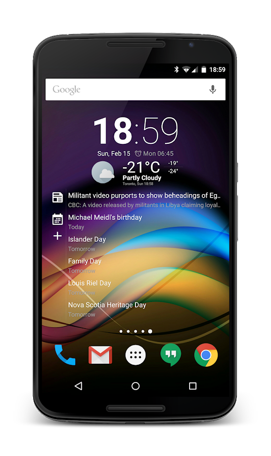 Chronus: Home & Lock Widgets – Screenshot