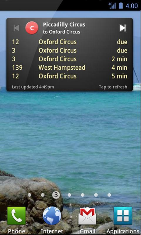 UK Bus Checker Free Live Times - screenshot