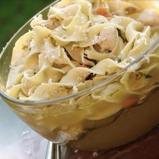 Chicken Noodle Soup with Fresh Herbs.