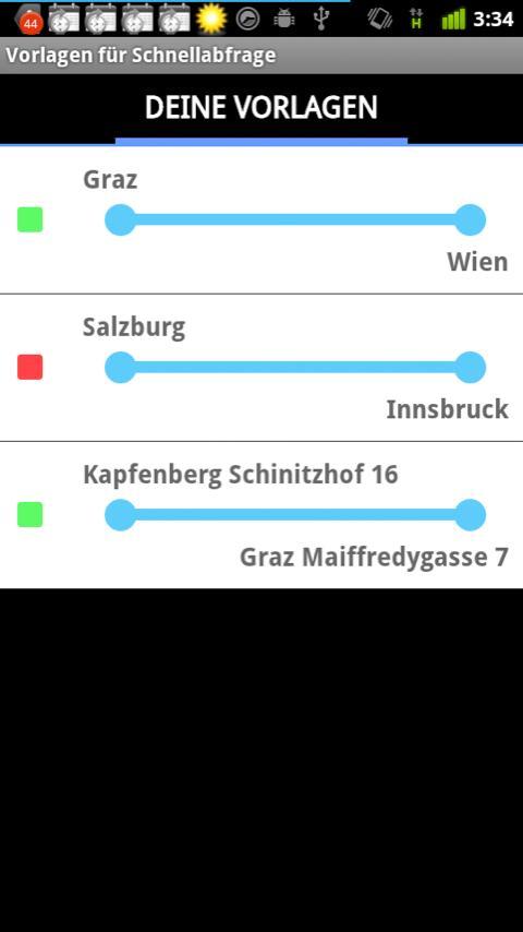 Fahrplan Österreich (Inaktiv)- screenshot