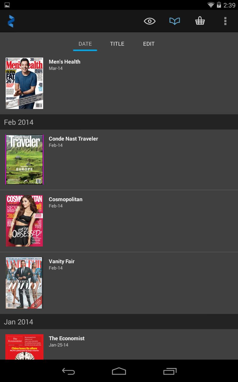 Zinio: 5000+ Digital Magazines screenshot #13