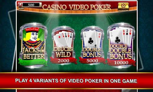Video Poker - Free Casino Game