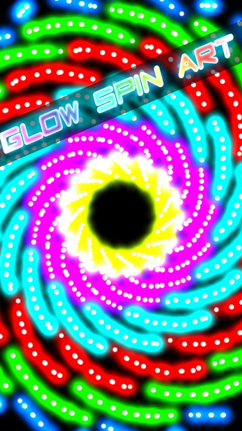 Glow Spin Art- screenshot