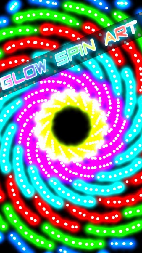 Glow Spin Art - screenshot