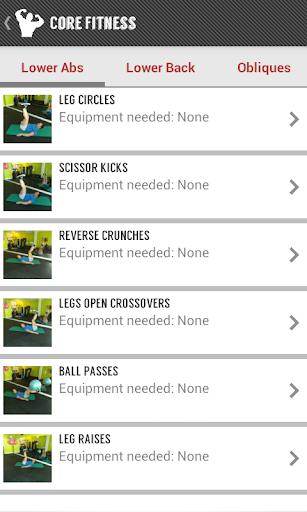 【免費健康App】Core Fitness: Abs Core Workout-APP點子